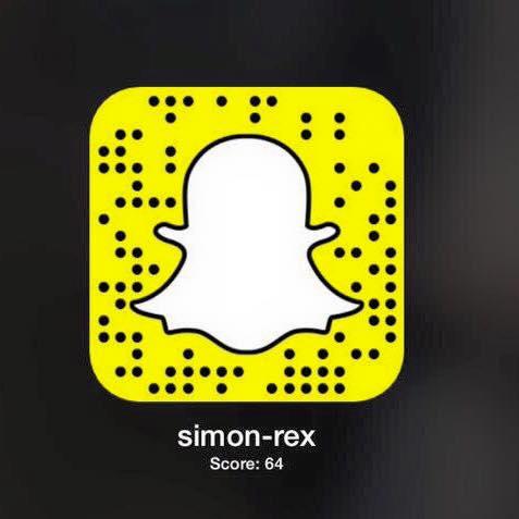Snapchat: Simon-Rex